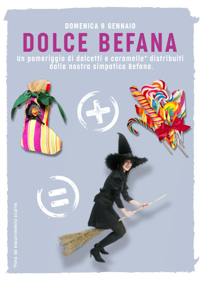Befana Centro Commerciale Le Betulle